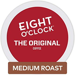 Eight O'Clock Coffee The Original, Single-Serve Coffee K-Cup Pods, Medium Roast, 72 Count