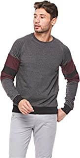 Ovs Sweatshirt For Men - Dark Grey, L