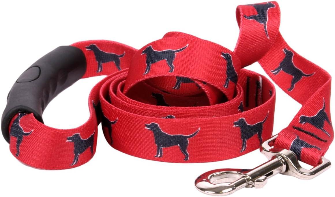 Cheap sale Yellow Dog Max 59% OFF Design Black Lab Handl Ez-Grip with Comfort Leash