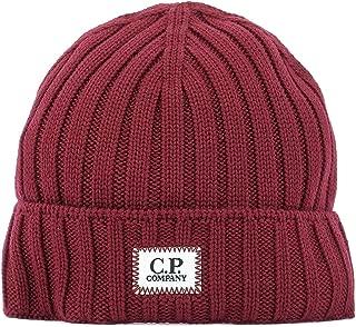 CP Company Luxury Fashion Mens 07CMAC214A005509A576 Burgundy Hat   Fall Winter 19