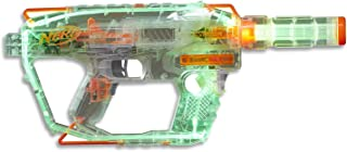 Nerf Modulus - Ghost Ops Evader - Customizable Motorised Blaster - Lights Up - inc 12 Elite Darts and Clip - Kids Toys and Outdoor Games - Ages 8+