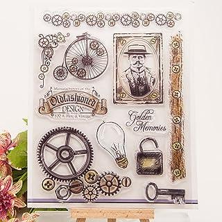 Fogun Tampons Clairs Transparents Scrapbooking Stamp Calendrier En Silicone Pour DIY Loisirs Créatifs Décoration Cadeau No...