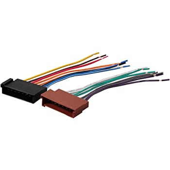 amazon.com: red wolf car wiring harness replace factory radio stereo  install for select 1985-2004 ford f150/250/350/lincoln/mercury vehicles:  automotive  amazon.com