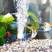 Upettools Aquarium Air Stones, Fish Tank Bubbler, Nano Silent Bubble Stone, Super-High Dissolved Oxygen Diffuser for Fish Tank