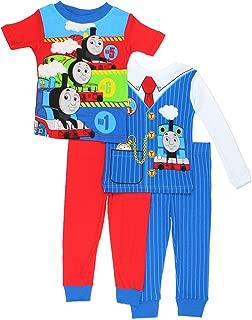 Thomas & Friends Boys 4 piece Costume Pajamas Set (Toddler)