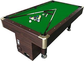 Simba Srl Mesa de Billar Juegos de Billar Pool 7 ft Carambola con Monedero electrónico Apollo - Nuevo embalado Medición de 188 x 94 cm