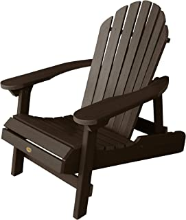 Highwood AD-CHL1-ACE Hamilton Adirondack Chair, Adult, Weathered Acorn
