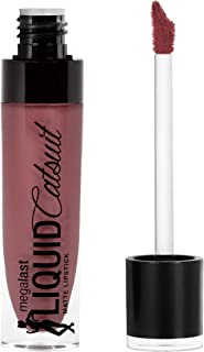 Wet n Wild Megalast Liquid Catsuit Matte Lipstick, Rebel Rose, 6g
