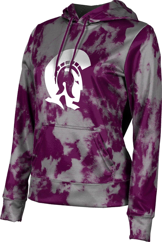 ProSphere University of Arkansas at Little Rock Girls' Pullover Hoodie, School Spirit Sweatshirt (Grunge)