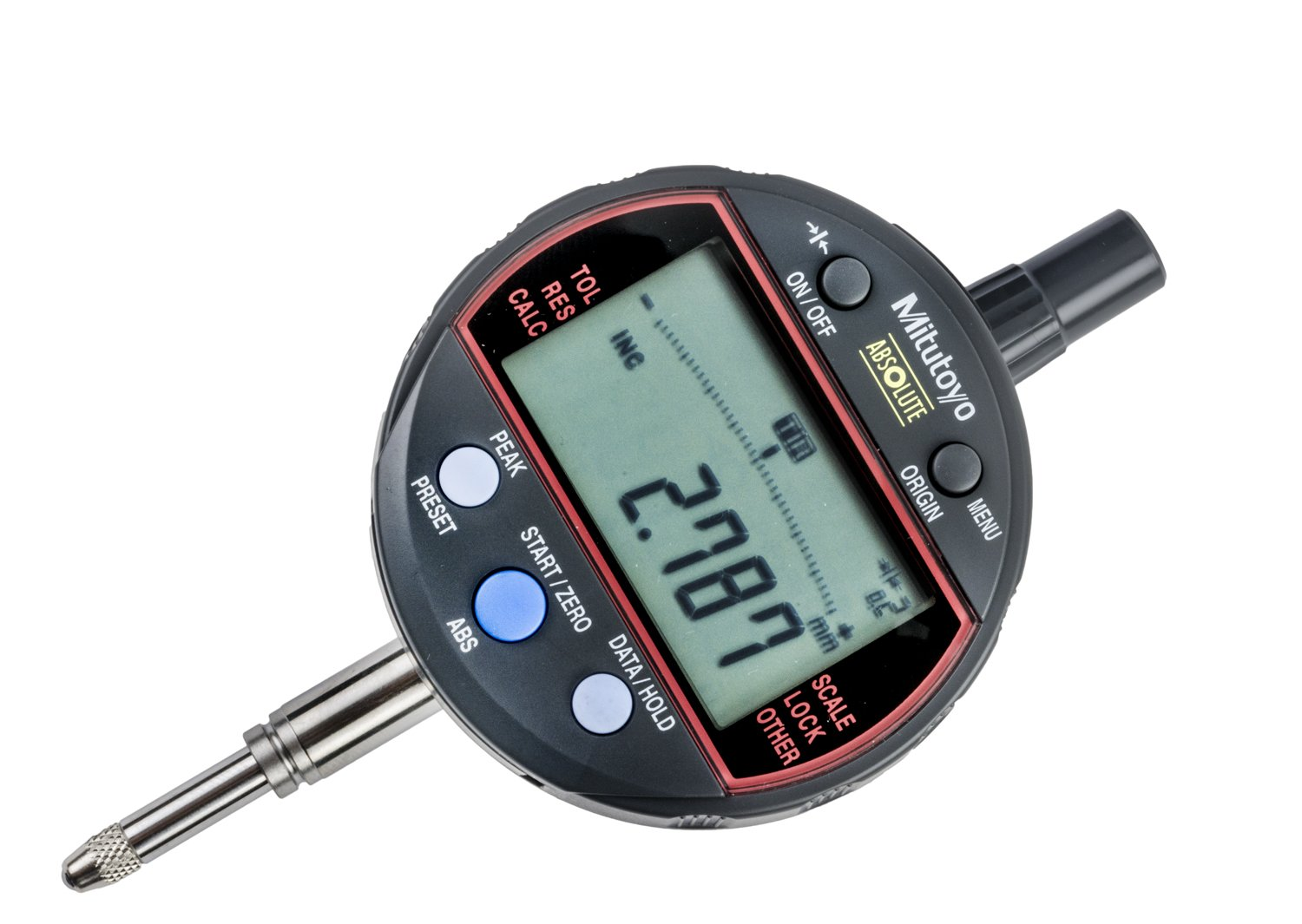 Mitutoyo 543-340B Calculation Type Indicator mm 8 Stem 12.7 Max 66% OFF Colorado Springs Mall