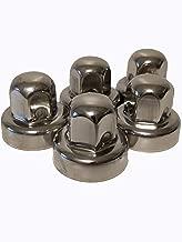 Alcoa, Lug Nut Covers (5 Pieces) Sprinter-Winnebago-Roadtrek-PleasureWay-Leisure Travel, Hide a Lug, 19mm, Stainless Steel, 000135, 000120, Set of 5 LugNuts, All Models: 2006 Through 2019