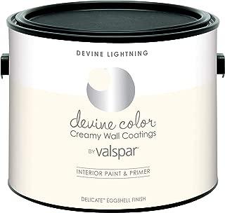 Valspar 104.0030206.340 Interior Paint & Primer Paint, 2.5 Liter, Lightning