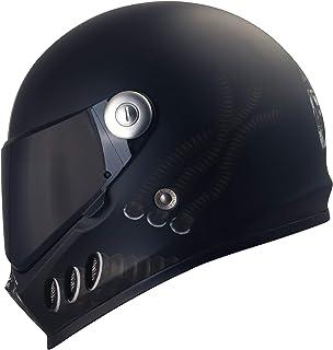 Broken Head Gas Man - Motorrad-Helm Mit Schwarzem Visier - Der Szene Marken-Helm - Größe M 57-58 cm