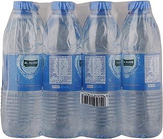 Al Jaleeb Drinking Water in Pet Bottle, 0.5 Ltr (Pack of 12)