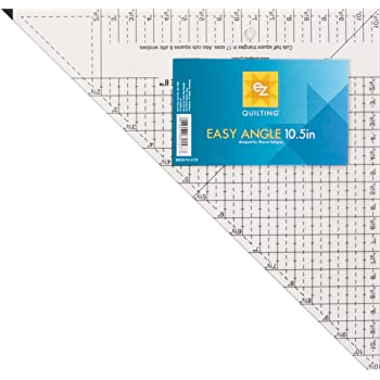 Daindy Rectangular Quilting Ruler Sewing Meauring Template Acrylic Fabric Crafting High Precision Clear Seam Ruler