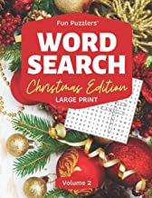 Word Search: Christmas Edition Volume 2: Large Print (Fun Puzzlers Large Print Word Search Books for Adults)