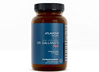 ATLANOVA Dr. Galland's TLC - Liposomal Anti Inflammatory Supplement, Turmeric Curcumin Supplement with Luteolin, Black Cum...