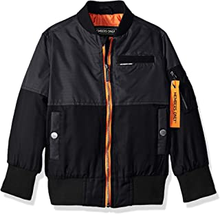 Members Only Boys` Two-Tone Bomber Jacket