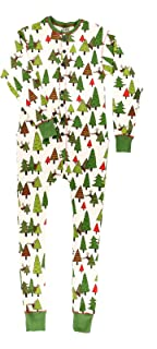 Family Matching Christmas Pajamas by LazyOne | No Peeking Holiday PJ Onsie