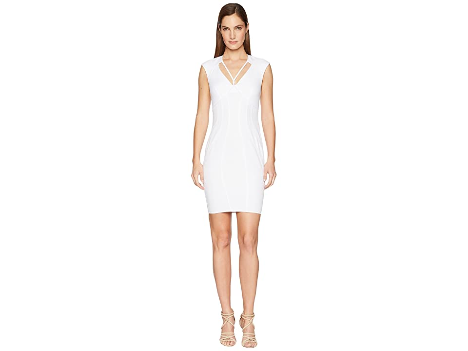 ZAC Zac Posen Regina Dress (White) Women