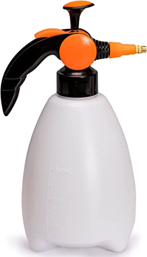 Nicely Neat Water Mister & Spray Bottle for Plants & Gardens - Mr. Mister - 1.5 Liters Sprayer with Adjustable Pressu...