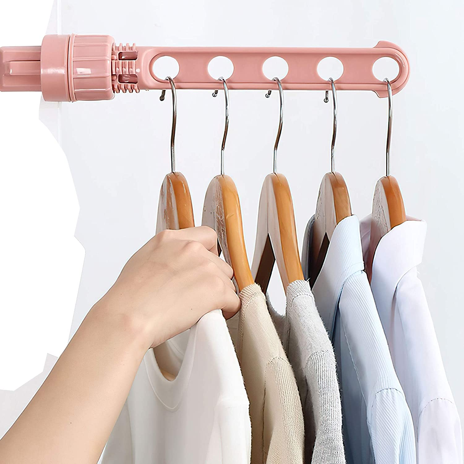 Special price for a limited time Safety and trust Portable Clothes Rack Racks Plast for Hanging