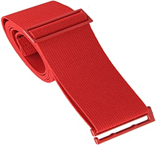 Gelante 女士隐形腰带 - 网布帆布弹性可调节紧身隐形腰带 红色 Standard (0-14)
