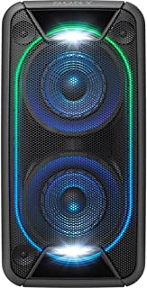Sony Portable Extra Bass High Power Home Audio System with Battery, Black, GTKXB90B