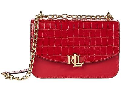 LAUREN Ralph Lauren Madison 22 Crossbody (RL 2000 Red) Handbags