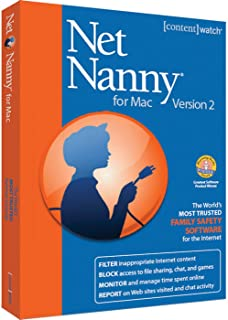 Net Nanny for MAC Version 2.0 - 50 User Licences (PC MAC)