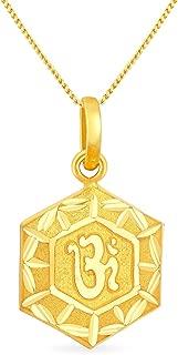 Malabar Gold & Diamonds 22KT Yellow Gold Pendant for Women