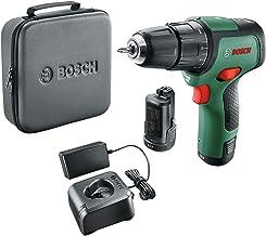 Bosch sladdlösa borrskruvdragare med slagborrfunktion EasyImpact 12 (2 batterier, 12volt-system, i mjuk förvaringsväska)