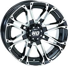 STI HD3 Machined/Black ATV Wheel 14x7 (4/110) - (2+5) [14HD301]