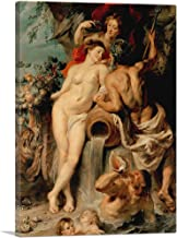 """ARTCANVAS The Union of Earth and Water 1618 Canvas Art Print by Peter Paul Rubens - 18"""" x 12"""" (0.75"""" Deep)"""