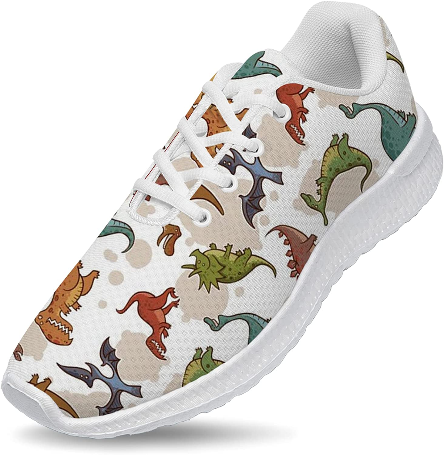 Sale special price Ciadoon New York Mall Dinosaur Shoes Mens Lightweight Womens Running Sne