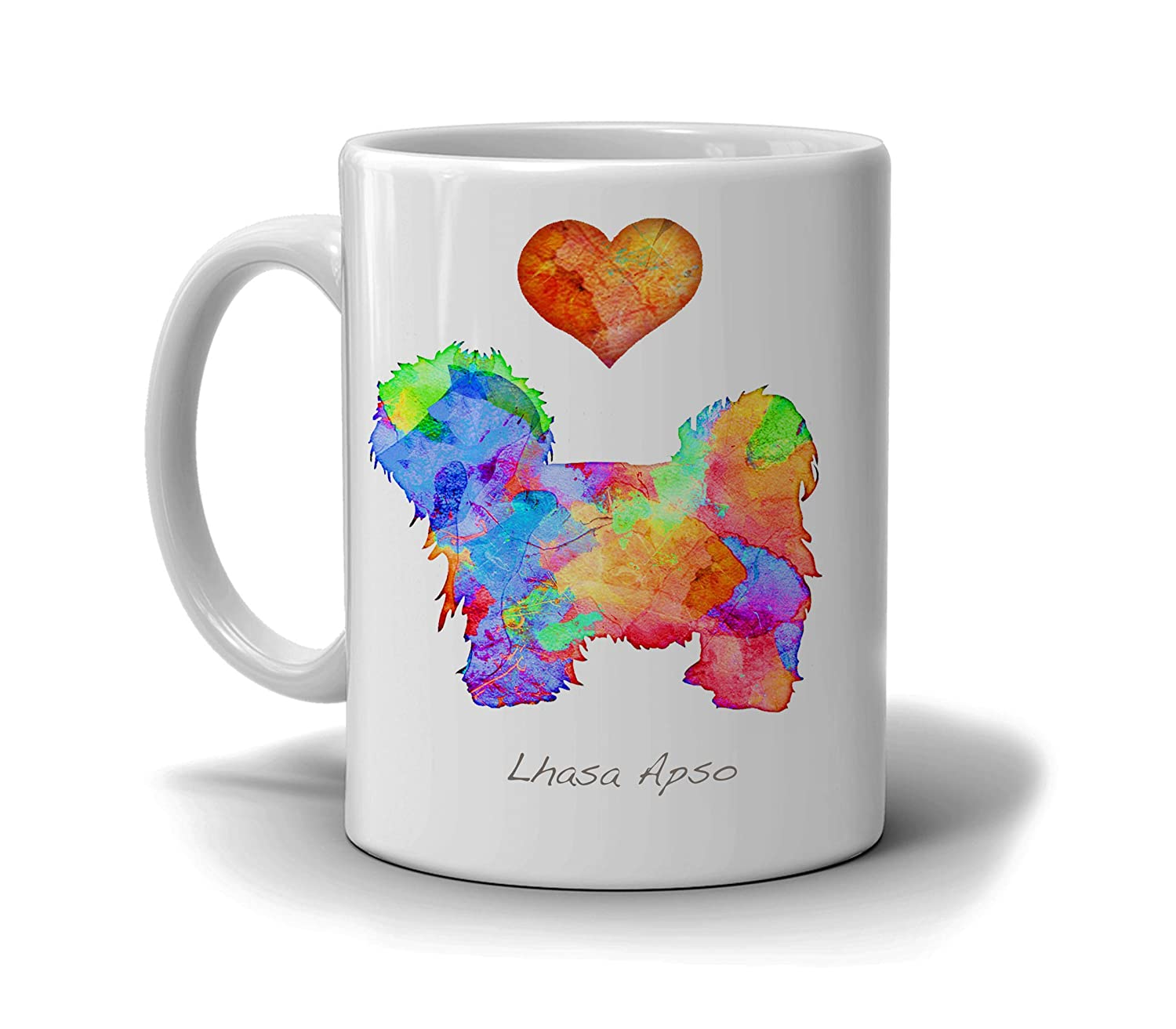 Lhasa Apso Dog Breed Mug by Nam Personalize Dan Direct Max 81% OFF store with Morris