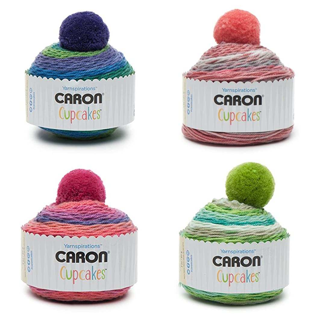 Caron Cupcakes Bundle (Sour Grapes, Sweet Berries, Mint Smoothie, Strawberry Pie)