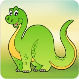 Dinosaur Game for Kids - Dino adventure scratch & color game for babies, boys, girls and preschool toddlers ages 2-4 years old