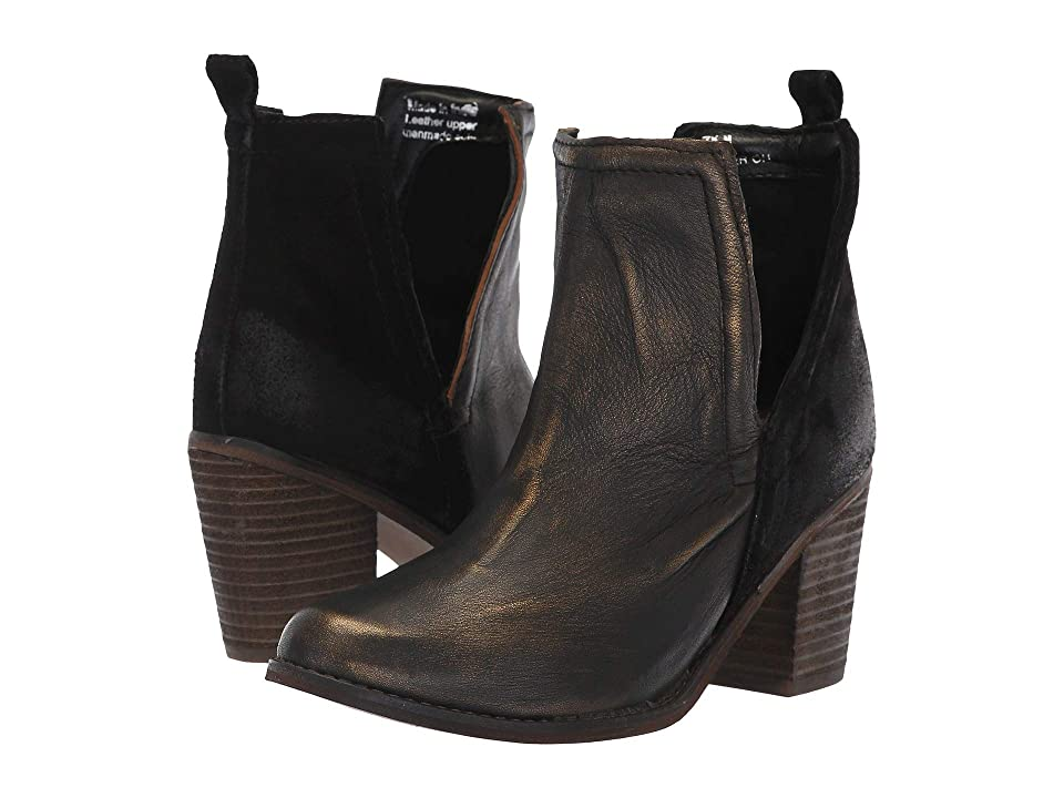 Diba True Later On (Black Gold Leather/Suede) Women