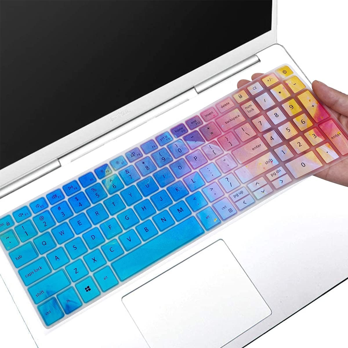 Keyboard Cover for 2021 2020 Dell Inspiron 15 15.6