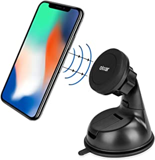 Olixar Magnetic Phone Holder For Car - Mount For Windscreen & Dashboard - Universal Compatibility - 360 Degree Rotation - ...