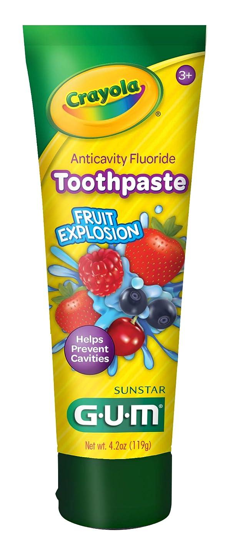 相手理想的自分のためにGum クレヨラ虫歯予防歯磨きフッ、熱帯ツイスト4.2オズ