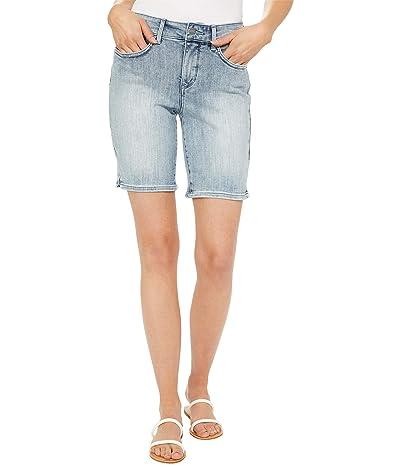 NYDJ Ella 9 Denim Shorts in Clean Affection Women