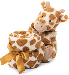 Jellycat Bashful Giraffe Soother Baby Security Blanket