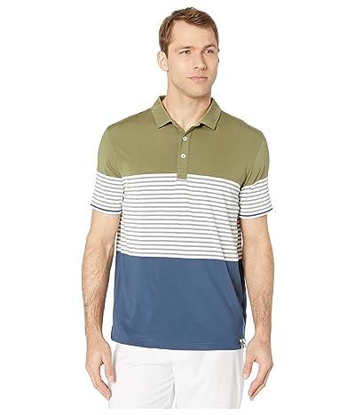 PUMA Golf Taylor Polo (Deep Lichen Green) Men
