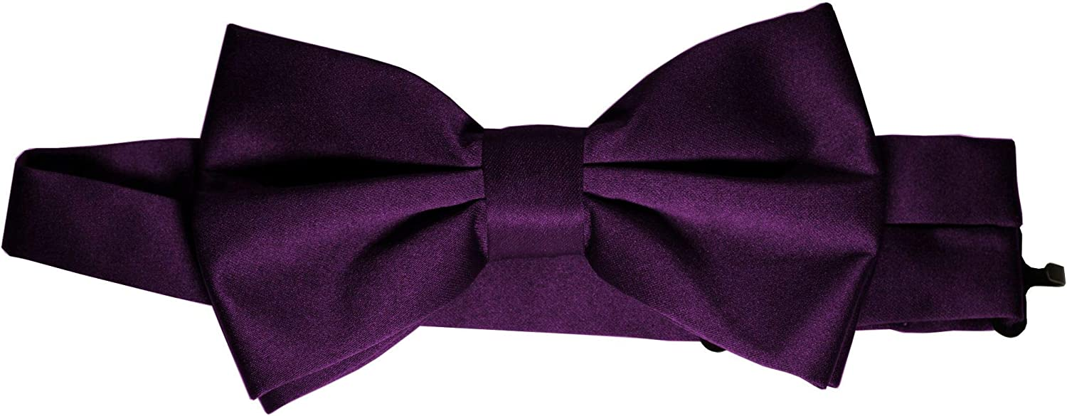 Bow-Tie is 2 1/2'' Wide. Fits neck up to 20