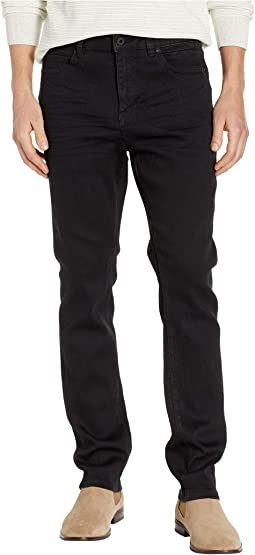 Wash Denim Slim in Black