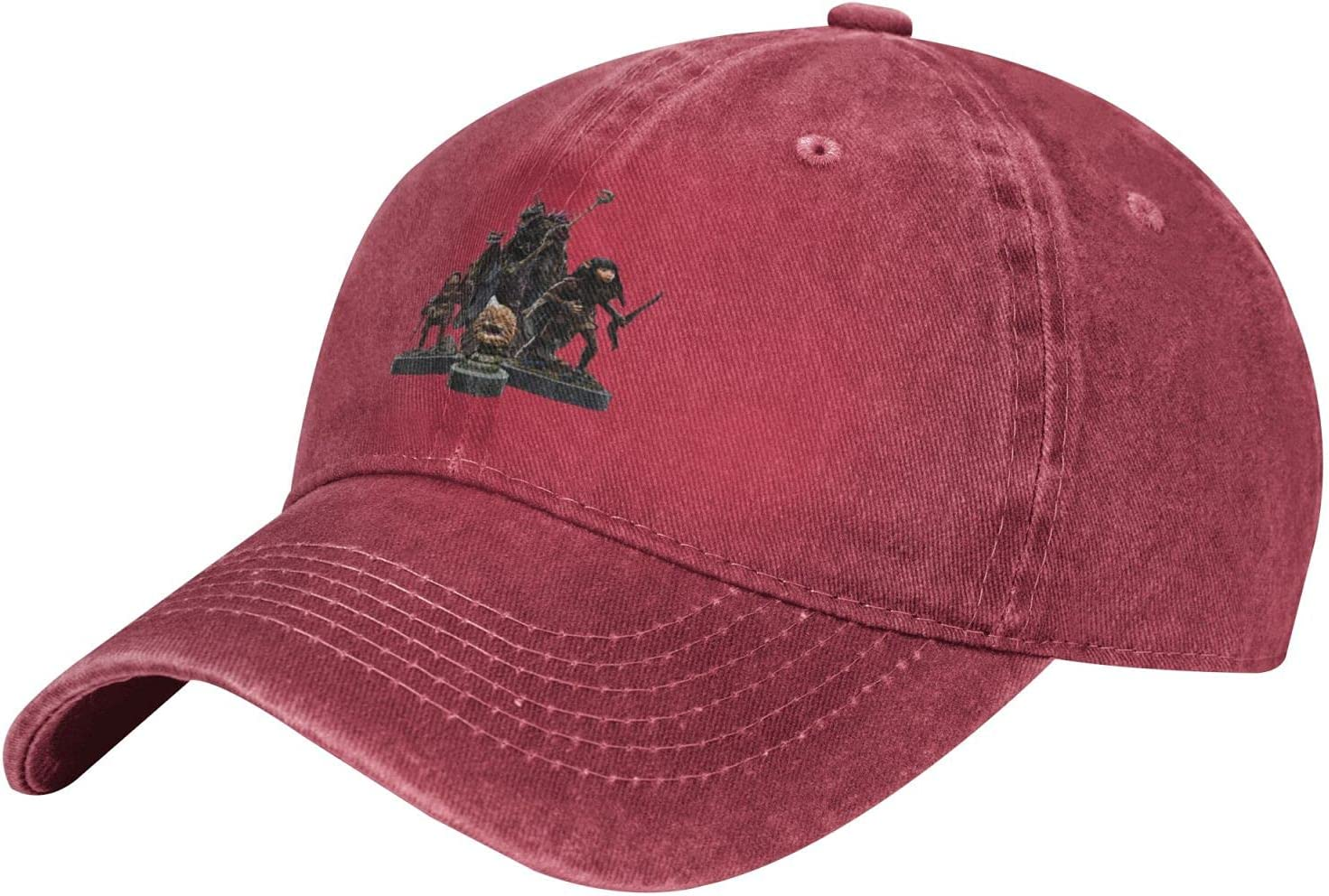 Pcaocmro The Dark Crystal Cowboy Hat Unisex Adjustable Hat Circumference Size Pure Cotton Denim Wash Water Outdoor