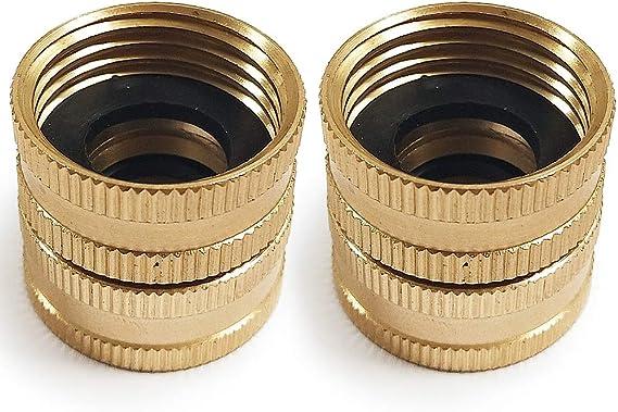 Garden Hose Brass Adapter Set - 3/4 in.
