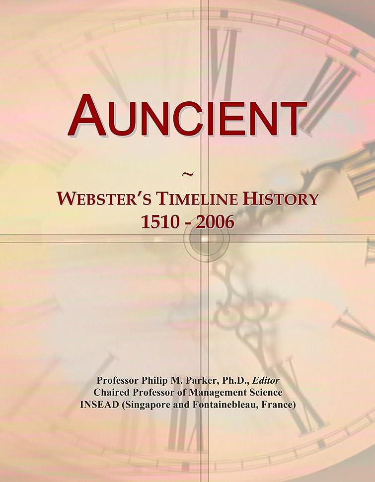 知覚できる不名誉なビームAuncient: Webster's Timeline History, 1510 - 2006